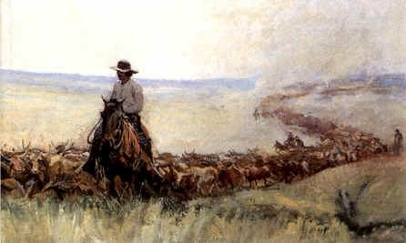 Cattle Drives and Roundups, Then and Now