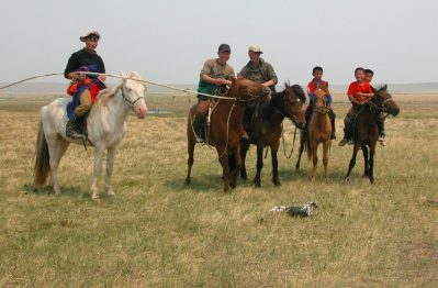 horseback riding holiday in Mongolia