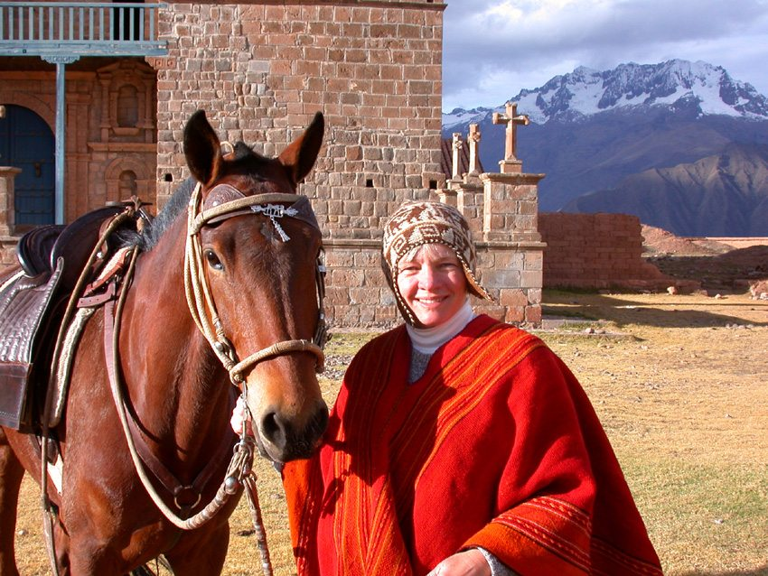 Sacred Valley of the Incas- visit local landmarks during your riding vacation in Peru
